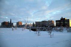 Fairbanks on an unseasonably warm December day. Photo courtesy Anne Jenkins.