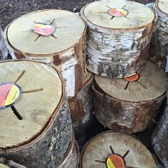 "From backyard to beach, these bonfire ""Light 'n Go"" logs help get the party going. Put it virtually anywhere and create a beautiful bonfire with one match. No chemicals, just pure kiln dried beautiful white birch, with a paperboard firestarter."
