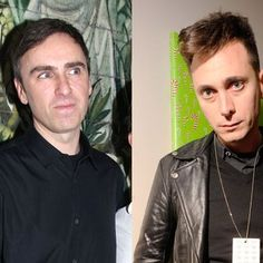 The Dubious Rivalry Between Raf Simons and Hedi Slimane: An Examination