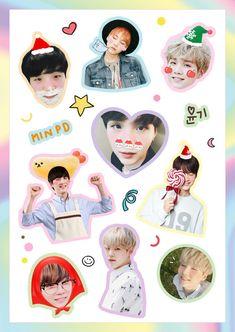 Fondo suga Creditos a quien le corresponda  :3 Bts Sticker, Exo Stickers, Korean Stickers, Tumblr Stickers, Printable Stickers, Cute Stickers, Kpop Diy, Bts Polaroid, Bts Merch