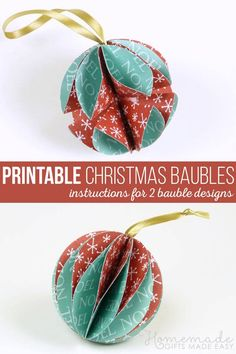 DIY Origami Star garland – Christmas Craft week – Girl about townhouse Easy To Make Christmas Ornaments, Origami Christmas Ornament, Homemade Christmas Decorations, Christmas Makes, Diy Christmas Ornaments, Simple Christmas, Handmade Christmas, Holiday Crafts, Easy Ornaments