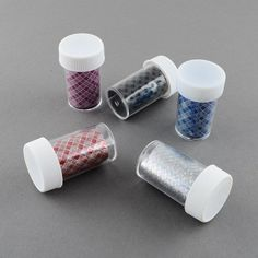 PEPPERLONELY Brand Box of 12 Bottles Nail Art Transfer Foil Nail Sticker Tip Decoration *** You can get additional details at the image link.