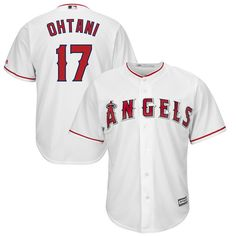 pick up 41650 3d8d9 Hit a home run for your Los Angeles Angels pride when you get this Shohei  Ohtani Official Cool Base Player Jersey from Majestic. The graphics are  amazing ...