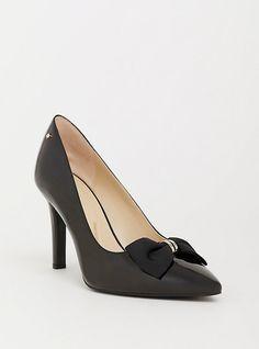 c037f289e6e Plus Size Black Patent Leather Wedge Pump (Wide Width)