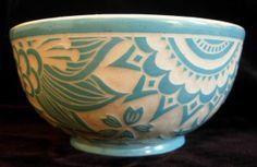 Indian paisley bowl...so pretty.