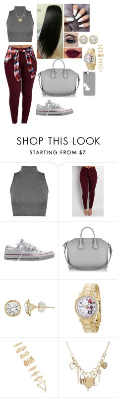 """Untitled #1003"" by mrsbreezy0522 ❤ liked on Polyvore featuring WearAll, Converse, Givenchy, Disney, Forever 21, Wet Seal and Casetify"