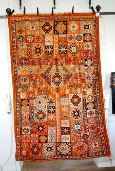 Gorgeous vintage rug from @myMarrakesh