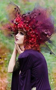 Photographer/Wardrobe: Belinda Matheson Photography Headpiece: Tarese Klemens Hair/Makeup: Valentina Pintus Makeup and Hair Artist Model: Lucinda Goodson model