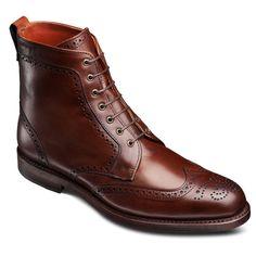 Allen Edmonds Dalton Wingtip Dress Boots 0116 Bob's Chili - ONLINE EXCLUSIVE