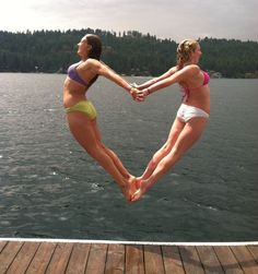 That must of took ALOT of practice! Great BFF picture!