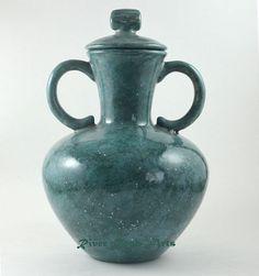 Turquoise Tuscan Vase by RiverRockArts, via Flickr