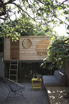 Cabane jardin...