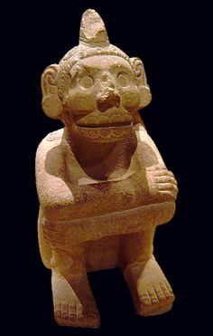 Aztec Deity Mictlantecuhtli, Death god