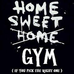 Home sweet gym