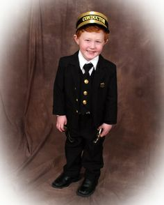Really Cute Polar Express Train Conductor Costume for Kids!