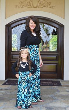 Ryleigh Rue Clothing by MVB - Mommy Waves of Blue Maxi In Black, $38.00 (http://www.ryleighrueclothing.com/new/mommy-waves-of-blue-maxi-in-black.html/)