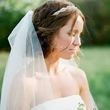 bridal headband and veil hairstyles - Google Search