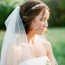 bridal headband and veil hairstyles - Google Search