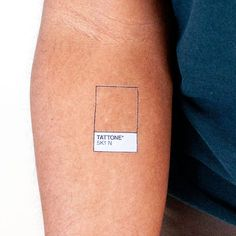 This beautifully minimal Tattly is both simple and versatile. It looks different on everyone, and great on anyone! Each sheet comes with 2 chip-sized Tattones and a deluxe-sized Tattone for when you n