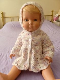 Newborn Baby Hoodie  also great for reborn doll or by BrijohCrafts, $20.00