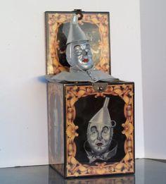 Vintage Wizard of Oz Tinman Musical Tinman by VintageCellarDoor