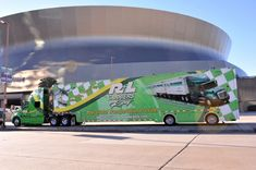 Football and #NASCAR at the New Orleans Superdome!