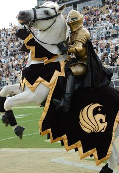 Knightro, the best mascot for the best school.