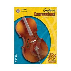 Alfred Orchestra Expressions Book One Student Edition Cello Book & CD