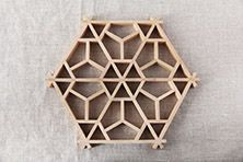 Kumiko Pot Coaster (Inomata art joinery shop)