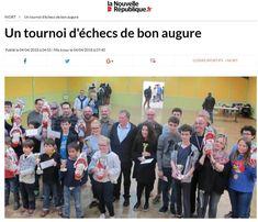 """À #Niort, """"Un tournoi d'#échecs de bon augure"""""""