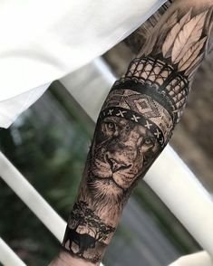 Tattoos for Men, Lion Covering, Lion Covering Tattoo, Wrist Covering, Lion Tattoo . # Tattoos - diy tattoo images - Tattoo World Lion Sleeve, Lion Tattoo Sleeves, Arm Sleeve Tattoos, Forearm Tattoo Men, Mens Leg Tattoo, Lion Arm Tattoo, Tattoo For Man, Tattoo Maori, Dragon Sleeve