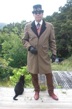 https://flic.kr/p/KjYbaj | 12304081_10205830902357369_2286534134563235869_o | Phineas Squidd Mens Coat Fashion