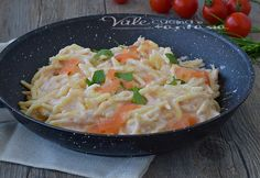 TROFIE CON CREMA AL SALMONE ricetta facile e veloce