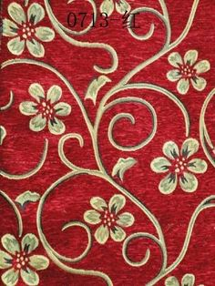 Jacquard Upholstery Chenille Fabric Including Used For Decoration Sofa Home Textile