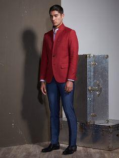 Shanghai Tang Cotton Blazer
