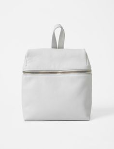 pebble leather small backpack