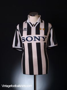 1995-96 Juventus Home Shirt S Vintage Football Shirts 630b002836f62
