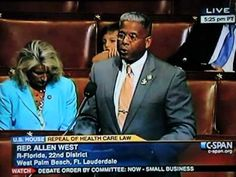 Rep. Allen West DESTROYS Obamacare