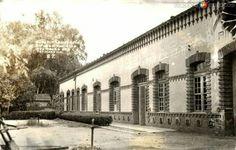 Acambaro Gto. Estación del Ferrocarril del lado de calle 5 de Febrero