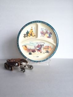 Vintage Western or Cowboy Themed Peco by SandHollowVintage on Etsy