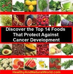Discover the Top 14 Foods That Protect Against Cancer Development #breastcancerdiet