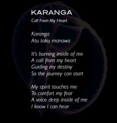 Listen to Karanga from AONUA - Music from the South Pacific featuring Taisha My Destiny, My Spirit, South Pacific, Thats Not My, Music, Musica, Musik, Muziek, Music Activities