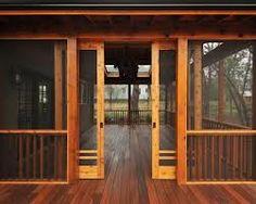 craftsman door with screen -