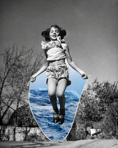"Saatchi Art Artist Merve Ozaslan; Collage, ""Play"" #art"