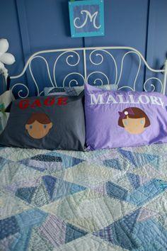 Personalized Pillowcase Tutorial