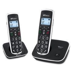 SPC 7609N Telf. DECT DUO Tec.Grd. AG20 ID LCD ECO