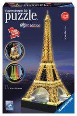 Tour Eiffel de nuit | 3D Puzzles | Nouveautés | Produits | frBE | ravensburger.com