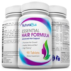 NuturaPlus Advanced Hair Growth Vitamins with Biotin 90 Tablets Clinical Strength to Combat Hair Loss Safe Hair Treatment Supplement for Men Women Repairs Strengthens Fortifies -- Visit the image link more details. (This is an affiliate link) Best Hair Growth Vitamins, Biotin Hair, Advanced Hair, Hair Loss Shampoo, Hair Growth Treatment, Hair Loss Women, Hair Loss Remedies, Super Hair, Hair Health