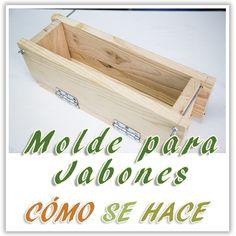 Hazlo tu mismo #DIY  Molde para hacer jabones naturales Vídeo-tutorial en este enlace;https://youtu.be/rmhdvnadsyw