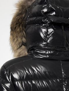 Infinity Jacket in Jet by Sam. Down Puffer Coat, Down Parka, Down Coat, Puffy Jacket, Snow Suit, Moncler, Fur Trim, Infinity, Jet